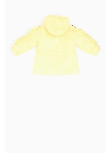 BG Baby Kız Bebek Sarı Yağmurluk Sarı